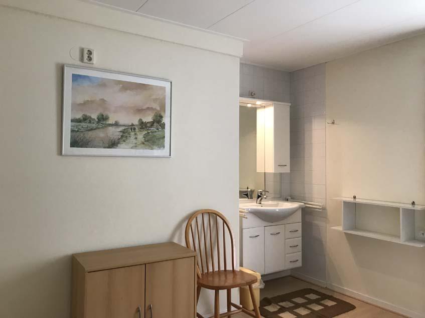 Grote slaapkamer - wastafel